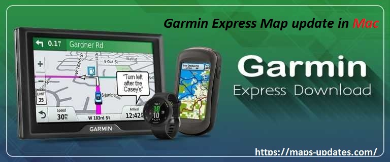 Garmin Express Map update in Mac