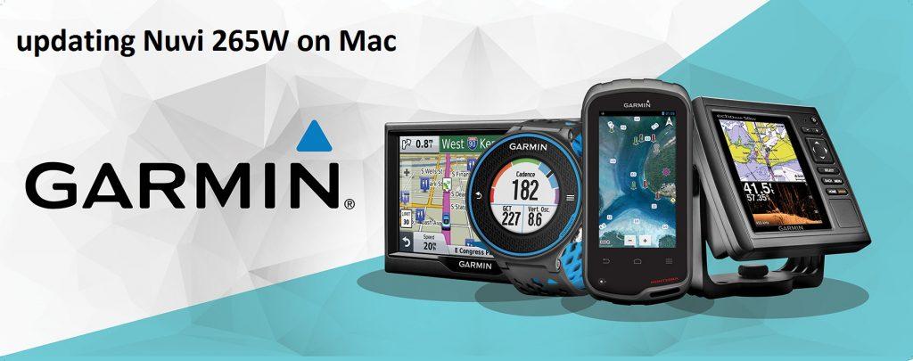 updating Nuvi 265W on Mac