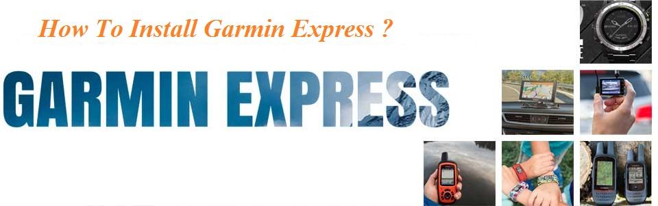 Install Garmin Express