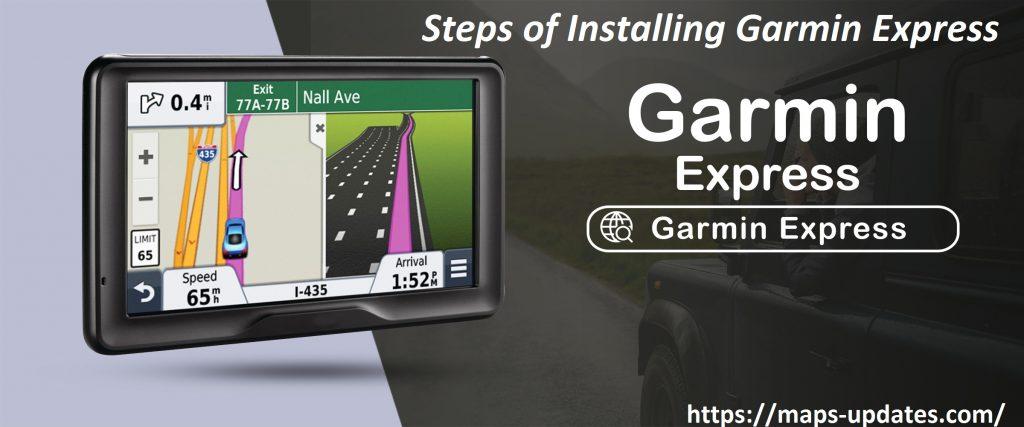 Steps  Install Garmin Express