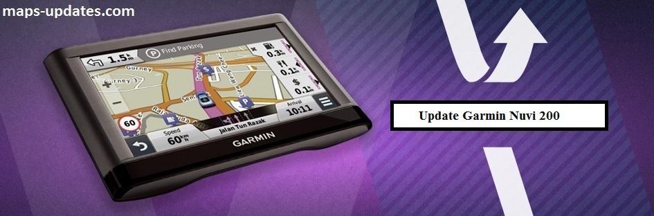 Update Garmin Nuvi 200