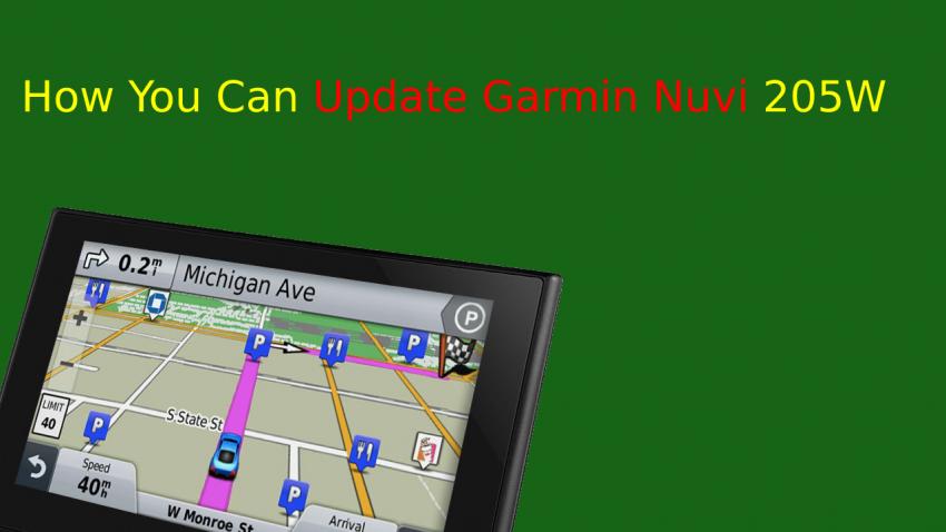 Update Garmin Nuvi 205W
