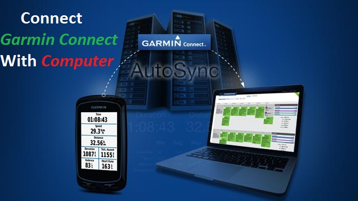 connect Garmin Connect With Computer