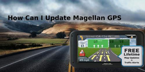 Update Magellan GPS