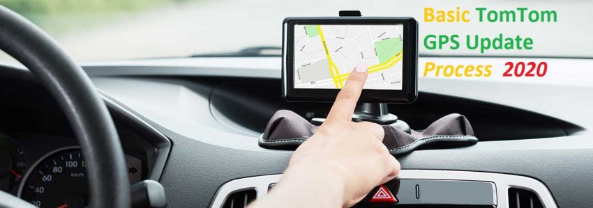 Basic TomTom GPS Update Process