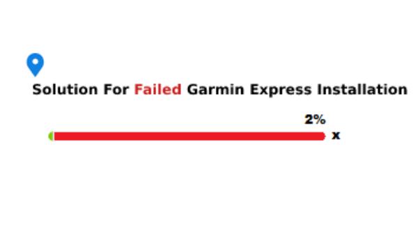 Solution For Failed Garmin Express Installation