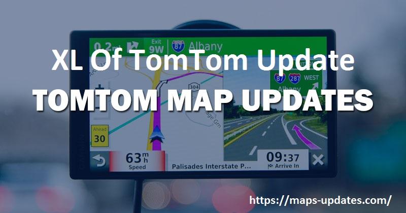 XL Of TomTom Update